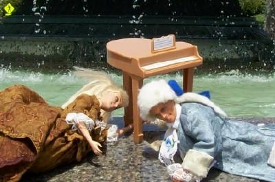 Pod klavirom